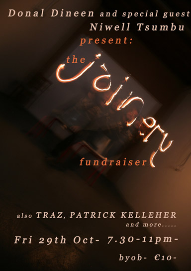 Joinery Fundraiser: A night of music hosted by Donal Dineen