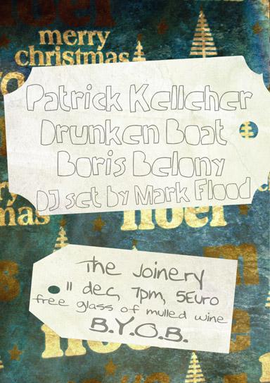 Patrick Kelleher, Drunken Boat, Boris Belony