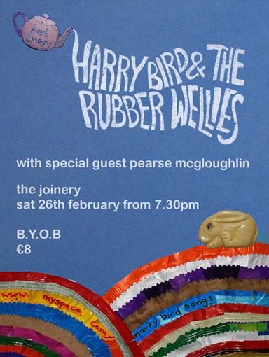 Harry Bird & the Rubber Wellies