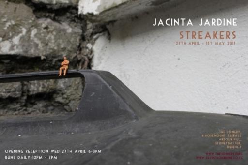 Streakers Jacinta Jardine