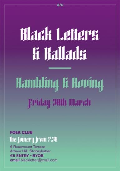 Black Letters & Ballads