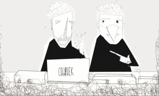 Simon Bird and Ickis Mirolo: Cockpuke