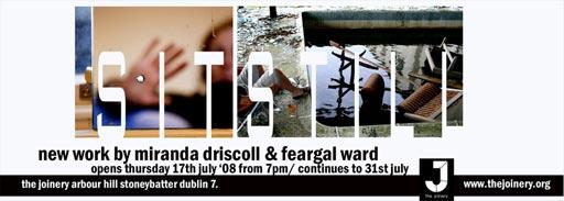 New Work by Miranda Driscoll & Feargal Ward